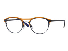 Tre3029 M.BLUE TR.ORANGE